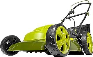 Sun Joe MJ408E 20-Inch 12-Amp Electric Lawn Mower + Mulcher, w/Side Discharge Chute