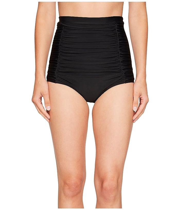 Unique Vintage Monroe Bikini Bottom (Black) Women