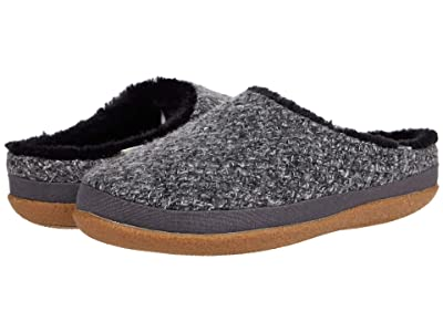 TOMS Ivy (Black Heather Sweater Knit) Women