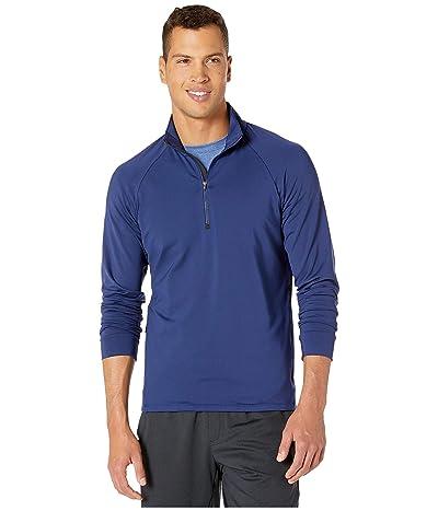 RYU Midlayer 1/4 Zip Pullover (Deepest Navy) Men