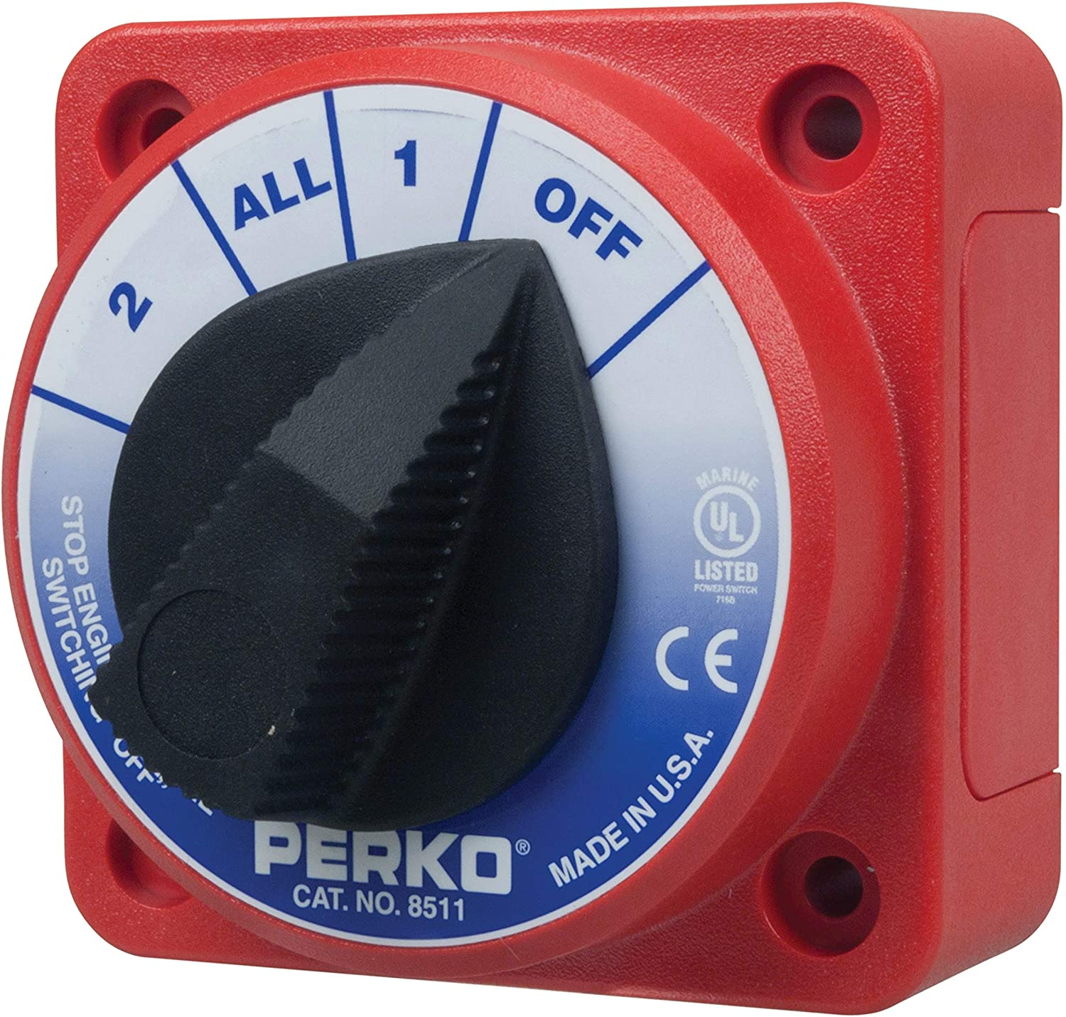Perko 8511DP Compact SEAL Recommendation limited product Battery Switch
