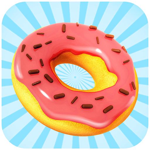 Bomboloni e Ciambelle Squisite - gioco di cucina Solo ciambelle gustose sono realizzate in questo...