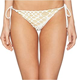 La Cabana Seamless Ruched Back Brazilian Tie Side Bottom