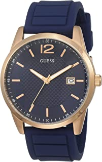 Guess Perry Blue Dial Analog Men's Watch -W0991G4