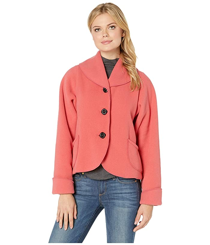1950s Clothing Janska Claire Jacket Coral Womens Clothing $70.99 AT vintagedancer.com