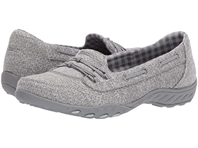 SKECHERS Breathe-Easy Good Influence (Gray) Women