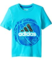 adidas Kids - Field and Court Tee (Toddler/Little Kids)