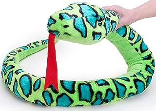 Animal Planet 67 Inch (170cm) Extra Large Plush Green Snake - Soft Toys - Stuffed Animals
