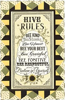 Timeless Treasures Fabrics Hive Rules Wall Hanging Quilt Kit