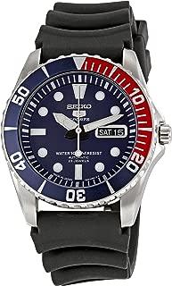 Seiko Men's SNZF15J2 Series 5 Rubber Strap Watch