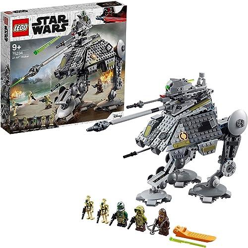 diseños exclusivos LEGO LEGO LEGO Star Wars - Caminante AT-AP, juguete de construcción y aventuras de La Guerra de las Galaxias con minifigura Chewbacca (75234)  comprar marca