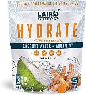 Laird Superfood Hydrate Coconut Water Turmeric 8oz