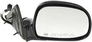 Dorman 955-091 Passenger Side Power Door Mirror - Heated / Folding for Select Chevrolet / GMC Models, Black