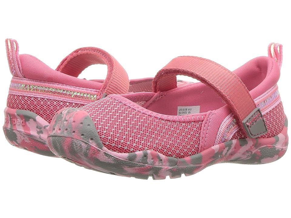 pediped River Flex (Toddler/Little Kid/Big Kid) (Pink) Girl