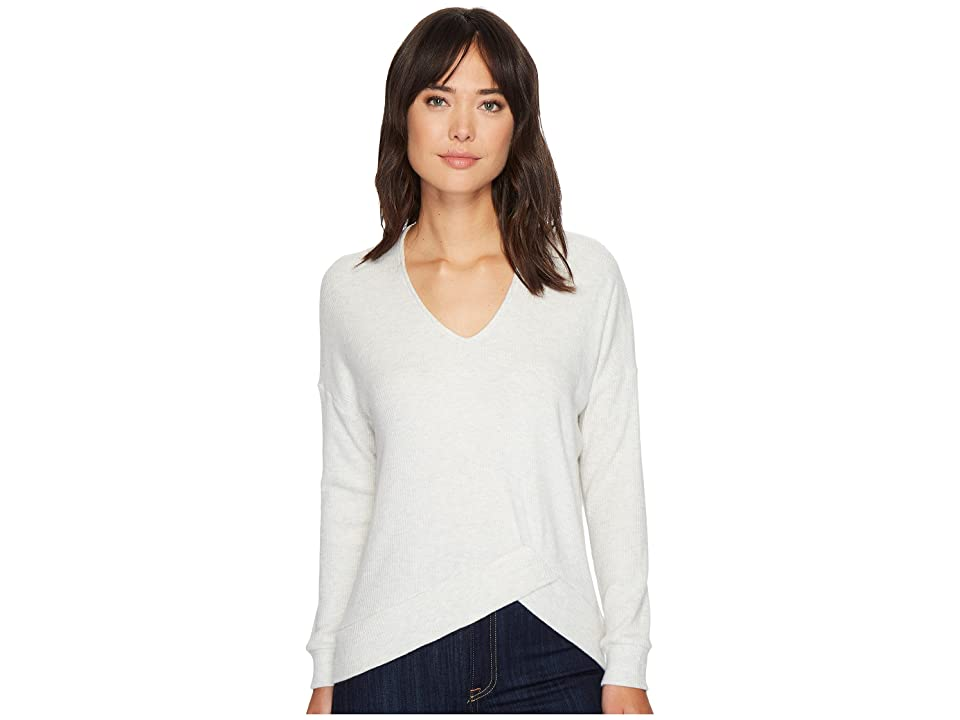 Project Social T Last Call Cozy Voop Top (Ash) Women's Long Sleeve Pullover