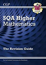 New CfE Higher Maths: SQA Revision Guide (CGP Scottish Curriculum for Excellence)