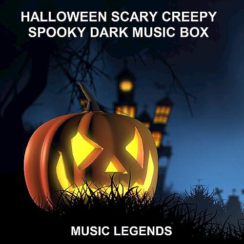 Halloween Scary Creepy Spooky Dark Music Box by Music