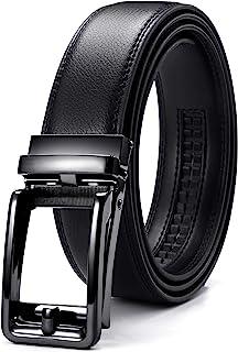 "Mens Belt Leather, CHAOREN Ratchet Belt 1 3/8"" - Suit Belt in Gift Box"