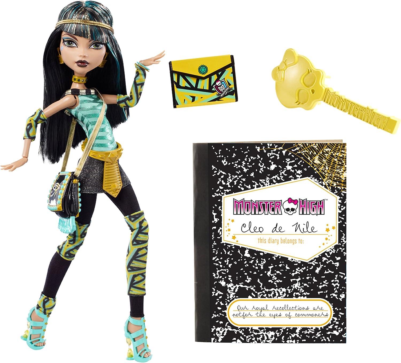 Mattel V7991 - Monster High Cleo de Nile - Tochter der Mumie