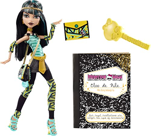 Mattel V7991 - Monster High Cleo de Nile - Tochter der Mumie