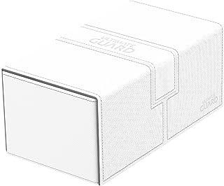 200 Card Twin Flip N Tray Xenoskin Deck Case, White