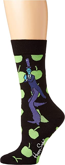 Beatles Apples Sock