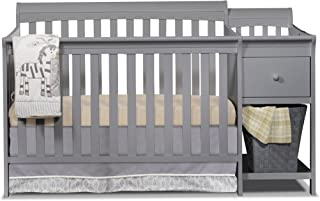 Sorelle Florence Crib and Changer, Gray