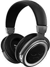 Ghostek Cannon Wireless Bluetooth Headphones | Enhanced Open-Back Design | Premium Over-Ear Comfort | Black