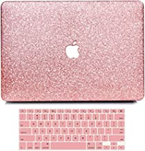 B BELK MacBook 12 Inch Case with Retina Display, 2 in 1 Bling Crystal Smooth Ultra-Slim Light Weight PC Hard Case with Keyboard Cover for MacBook 12 Inch (Model:A1534) - Shining Rose Golden