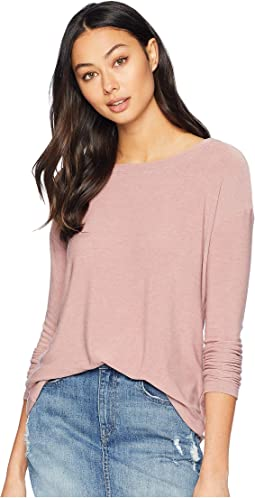 Cozy Knit Long Sleeve Corset Back Dolman
