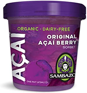 Sambazon Original Açaí Berry Sorbet, 16 Ounce