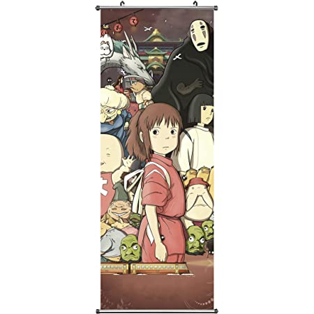 Anime Scroll Poster for Series Character Pattern- Fabric Prints 100 cm x 40 cm | Premium and Artistic Anime Theme Gift | Japanese Manga Hanging Wall Art Room Decor