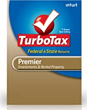 TurboTax Premier Federal + E-File + State 2012 for PC [Old Version]