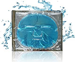 Blue Marine Algae Seaweed Facial Face Mask, Look Younger and Rejuvenated In Minutes, Intense Hydration, Collagen, and Antioxidants Balance Skin's Hydration Levels.