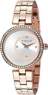 Giordano Analog Silver Dial Women's Watch - A2056-33