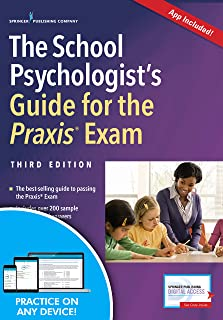 The School Psychologist's Guide for the Praxis Exam, Third Edition (Book + Free App)