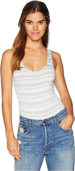 Kali Stripe Sleeveless Bodysuit