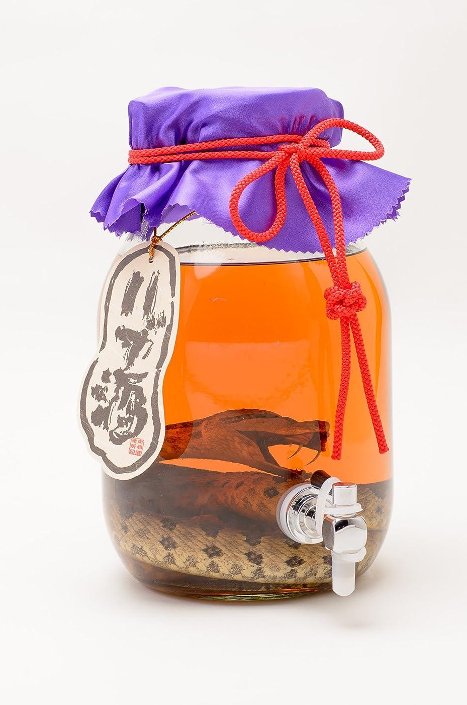 八百屋従事する崩壊南都 琉球の酒 ハブ入りハブ酒 瓶 3300ml