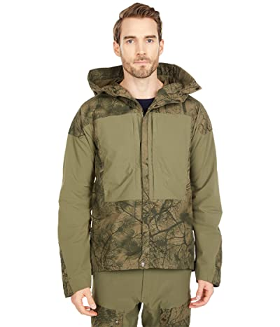 Fjallraven Keb Jacket (Green Camo/Laurel Green) Men