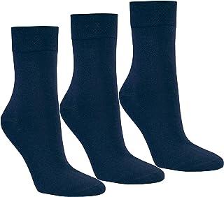 S&R, Rs 12 Par Mujer Lujo - Calcetines sin Goma Borde Suave Medias Calcetines Algodón