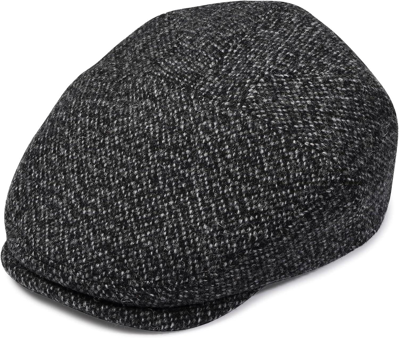 Newsboy Cap for Men, 100% Italian Wool Flat Cap, Ivy Hat, Mens Caps, Gatsby Hat