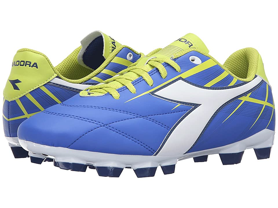 Diadora Forte W MD LPU (Electric Blue/White/Lime) Women