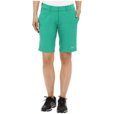 Nike Golf Bermuda Shorts Solid (Lucid Green/Metallic Silver) Women