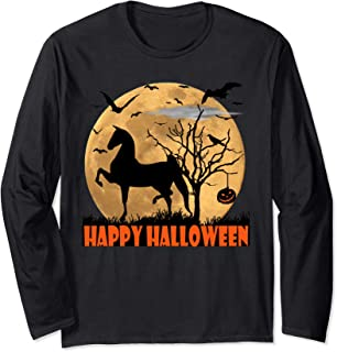World Champion Saddlebred, Walk Trot Horse, Flying Bats  Long Sleeve T-Shirt