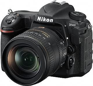 Nikon D500 Lens Kit - 16-80mm f/2.8-4E ED VR Lens, SLR Camera, Black