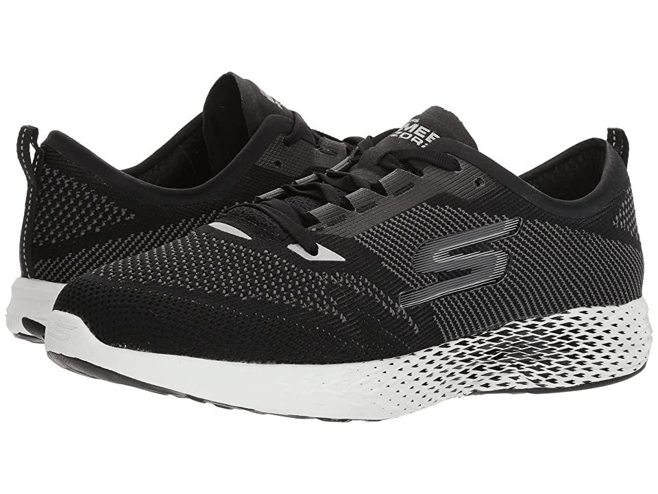 SKECHERS Go Meb Razor 2 (Black/White) Women