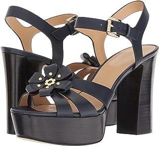 Michael Michael Kors Womens Tara Leather Closed Toe Ankle Strap Classic Pumps