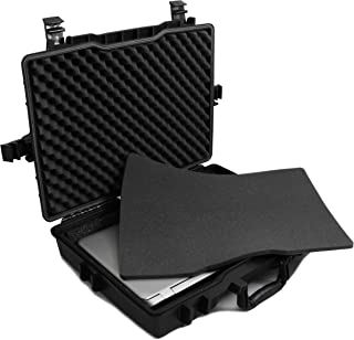 CASEMATIX Laptop Hard Case Fits Gigabyte Gaming Laptops Up to 18 Inches; Holds Gigabyte Aero 15X, Gigabyte Sabre 15 and More with Accessories