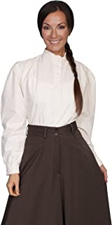 Scully Rangewear Women's Rangewear Frontier Long Sleeve Top - Rw534ivo