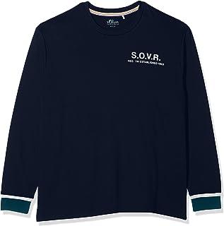 s.Oliver Big Size T- Shirt À Manches Longues Homme